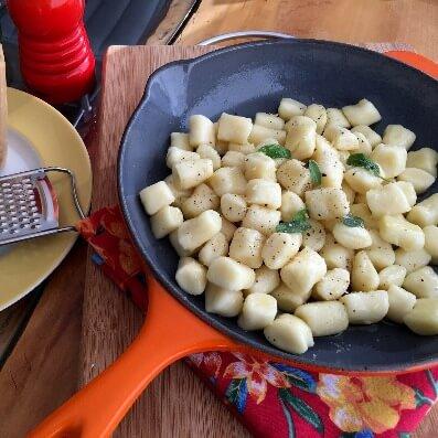 gnocchi massa de macarrão fresca